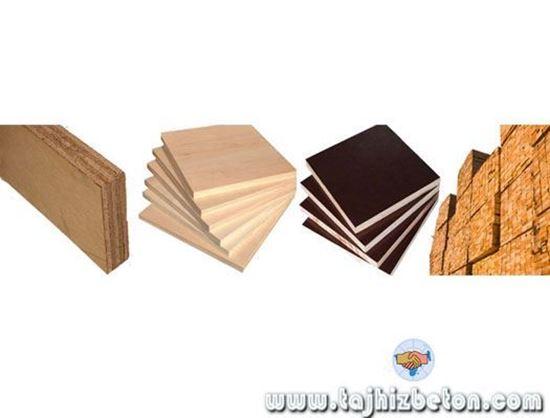 تصویر از تخته چندلایی ، تخته قالب بندی ، تخته بنایی و چهار تراش کردستان